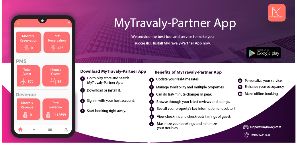 Introducing The Mytravaly Mobile App For Partners