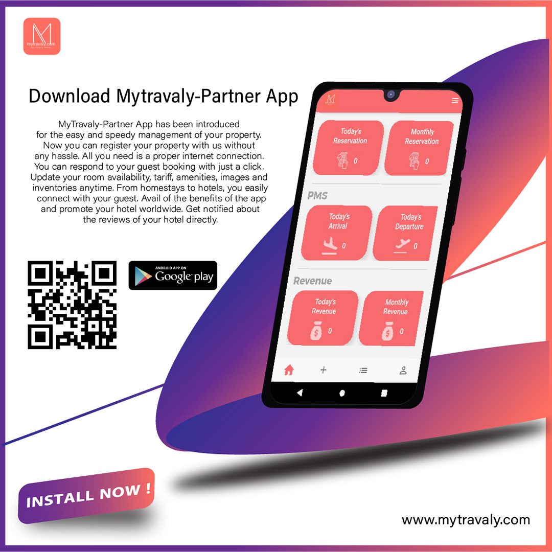 Manage your property with MyTravaly-partner app