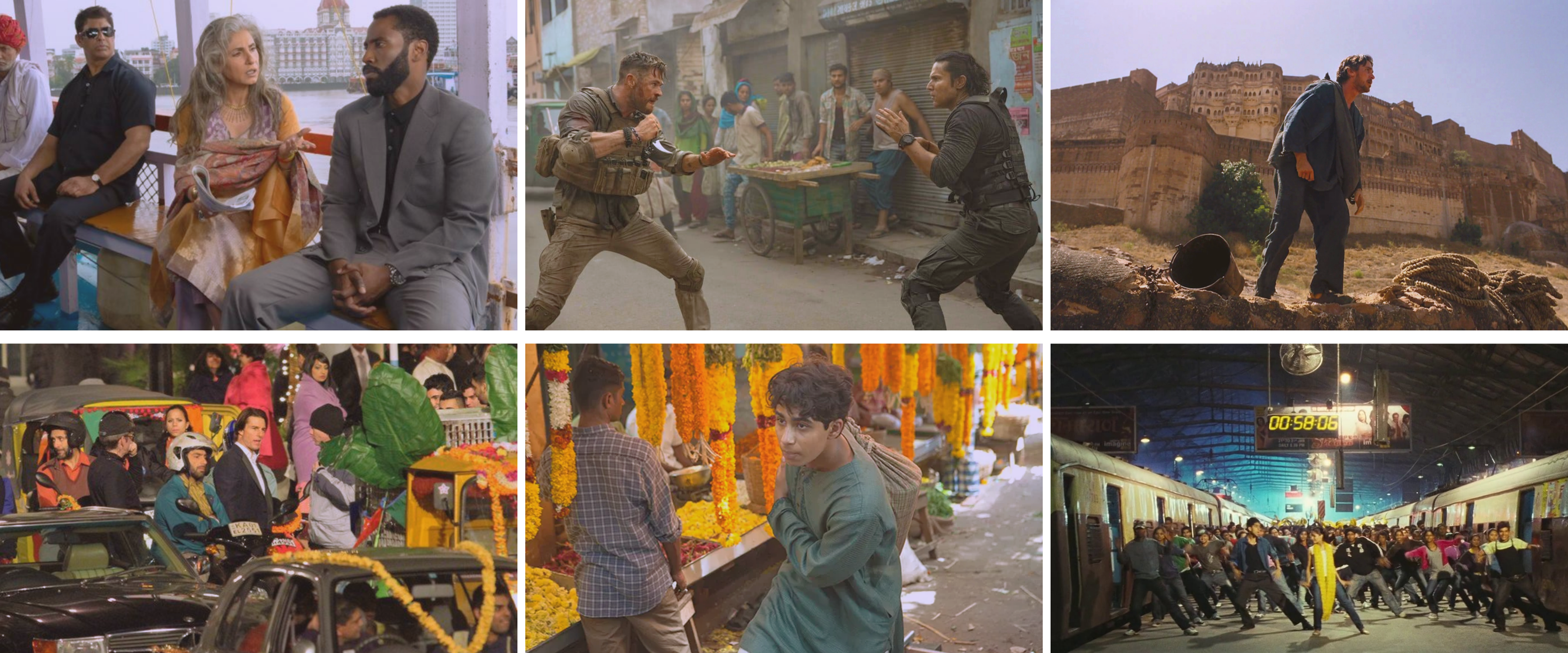 Famous Hollywood movies that shot their extensive scenes in India