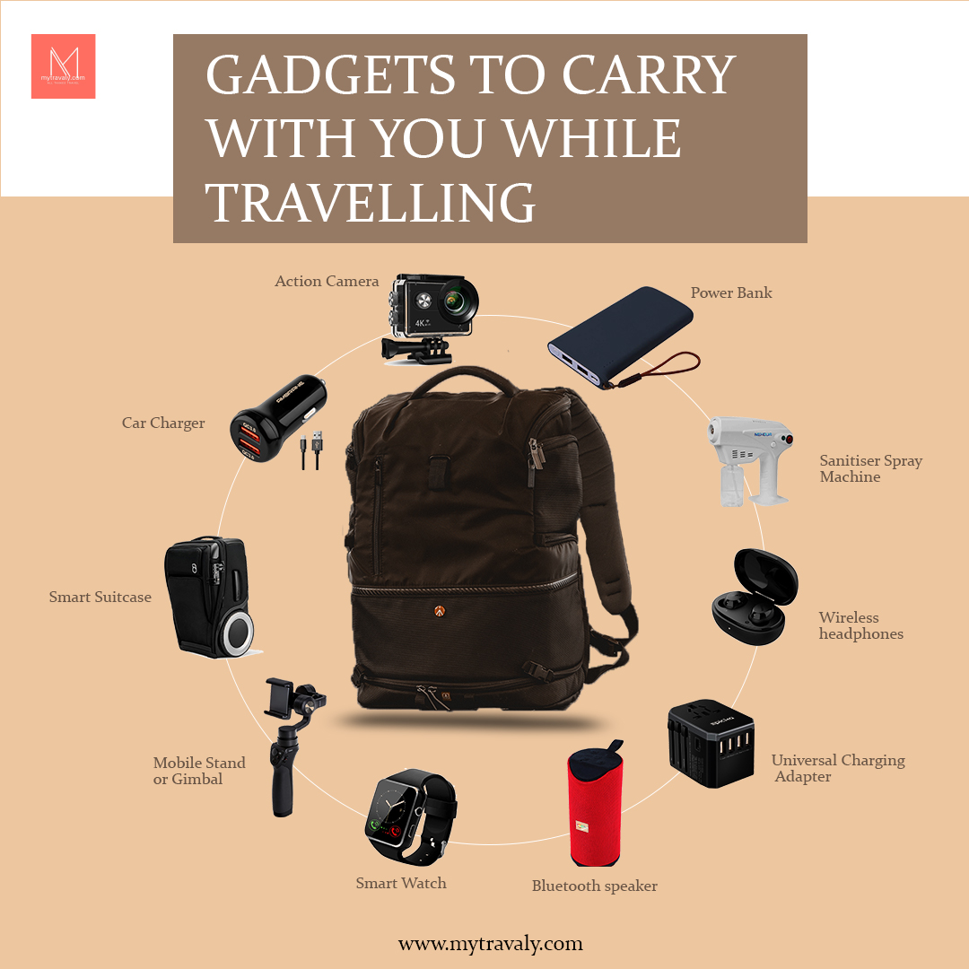 Gadgets to carry with you while travelling