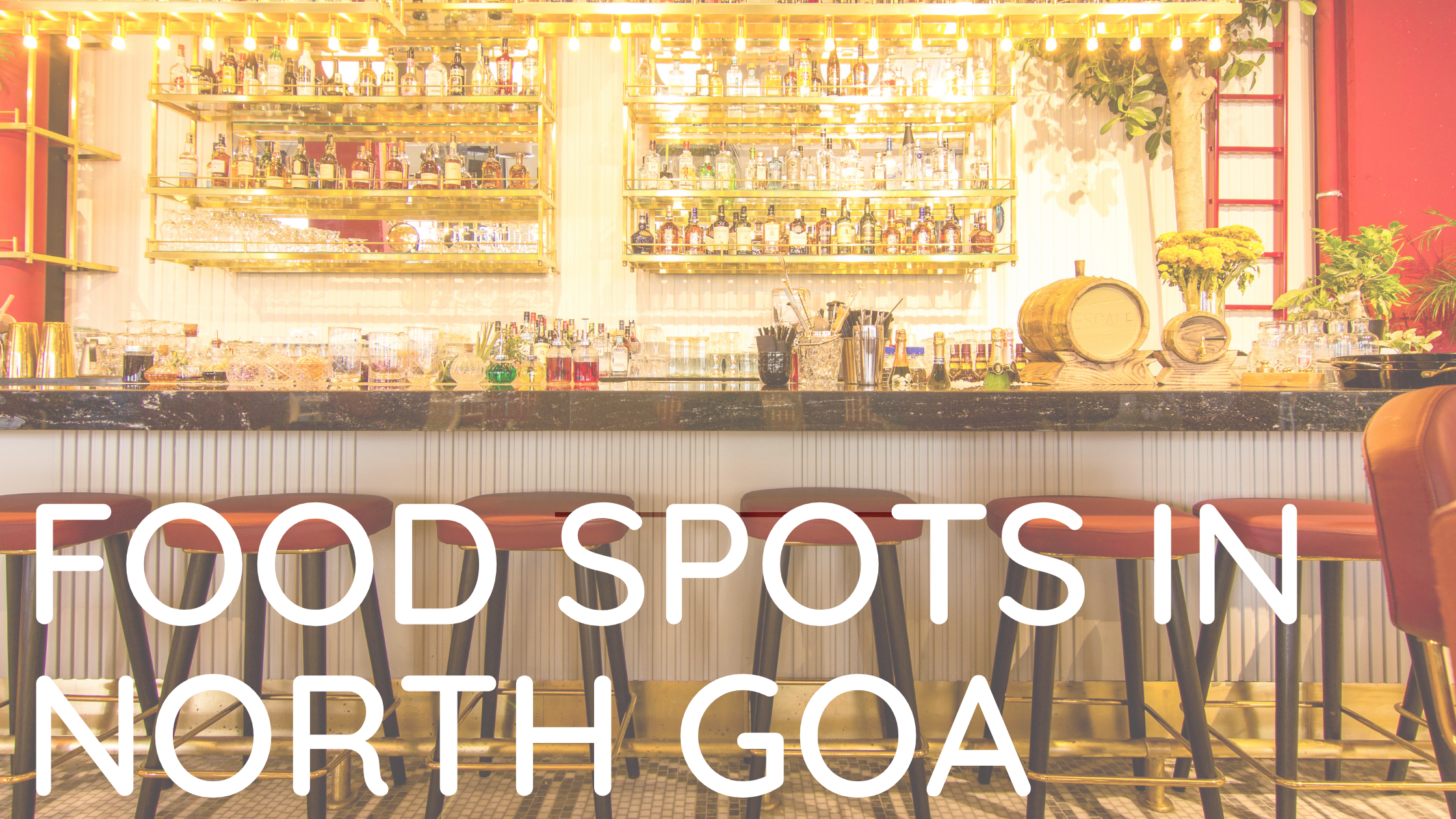 Top 6 famous Food Spots in North Goa.